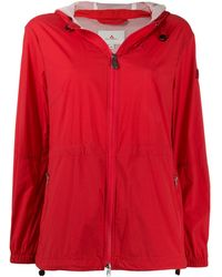 Peuterey Hooded Lightweight Jacket - Red