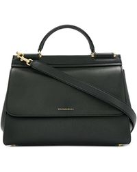 Dolce & Gabbana Sicily Tote Bag - Black