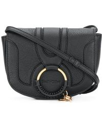 See By Chloé - Mini Hana Shoulder Bag In Black - Lyst