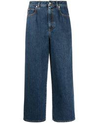 Alexander McQueen Jeans Blue