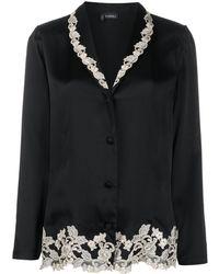 La Perla Maison Silk Pyjama - Black