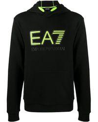 ea7 evo pique hoodie