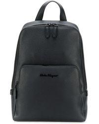 Ferragamo Firenze Backpack - Black