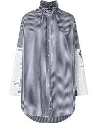 Balenciaga - Patch Shirt - Lyst