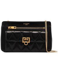 Givenchy Pocket Leather Crossbody Bag - Black