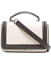 Brunello Cucinelli - Leather Tote Bag - Lyst