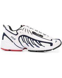 MSGM X Fila Low-top Trainers - White
