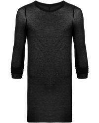 Rick Owens Performa Long-sleeved Level Top - Black