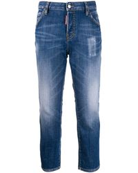DSquared² I Love D2 Slim-fit Jeans - Blue