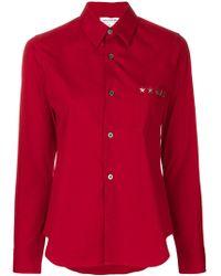 Comme des Garçons - Long Sleeve Button Up Shirt - Lyst