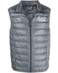 EA7 Logo Down Jacket - Multicolour