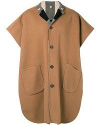 Burberry - Short Sleeved Coat - Lyst