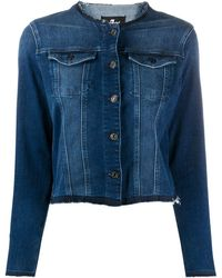 7 For All Mankind Illusion Integrity Denim Jacket - Blue
