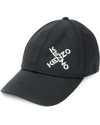 KENZO Logo Cross-over Cap - Black