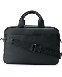 Emporio Armani - Leather Bag - Lyst