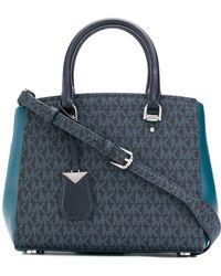 MICHAEL Michael Kors - Benning Leather Messenger Bag - Lyst