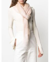 Snobby Sheep Sciarpa In Cashmere - Rosa