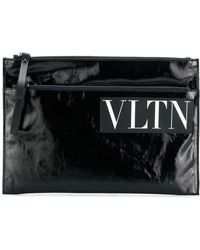 Valentino - Garavani Vltn Clutch Bag - Lyst