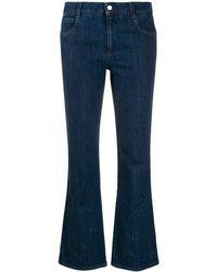 Stella McCartney Jeans goffrati - Blu