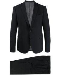 Emporio Armani Swool Suit - Black