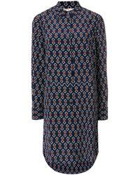 Tory Burch - Silk Printed Michelle Dress - Lyst