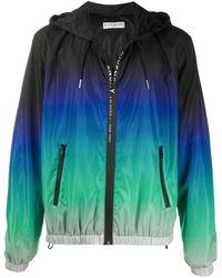 Givenchy Colour-block Hooded Jacket - Black