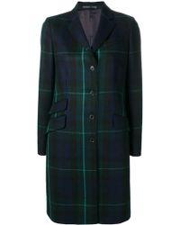Paul Smith - Wool Coat - Lyst