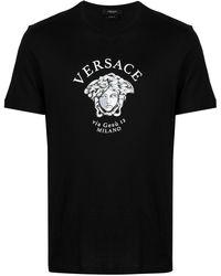 Versace - Medusa Head Logo T-shirt - Lyst