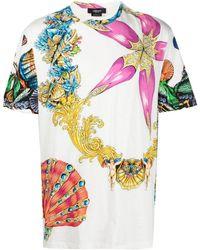 Versace - Trésor De La Mer T-shirt - Lyst