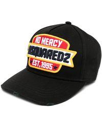 DSquared² Cappello da baseball No Mercy - Nero