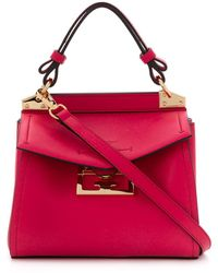 Givenchy Mystic Mini Leather Bag - Red