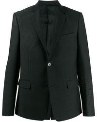 Fendi Ff Motif Blazer - Black