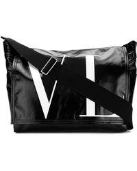 Valentino - Vltn Messenger In Leather - Lyst