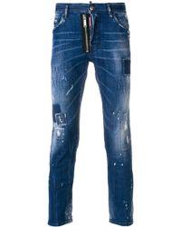 DSquared² - Skater Jeans Denim - Lyst