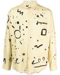 Jacquemus Printed Shirt - Yellow