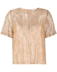 Forte Forte T-shirt con ricamo - Multicolore