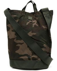 Porter Camouflage-print Tote Bag - Green
