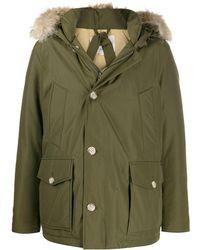 Woolrich Arctic Anorak Down Coat - Green
