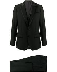 Dolce & Gabbana Completo due pezzi monopetto - Nero