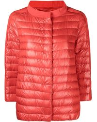 Herno Short Down Jacket - Red