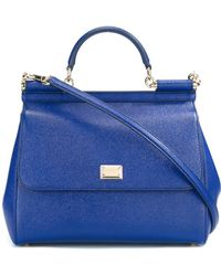 Dolce & Gabbana - Large 'sicily' Tote - Lyst