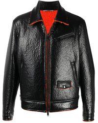 Valentino - Shearling Biker Jacket - Lyst