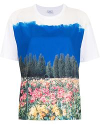 PS by Paul Smith T-shirt con stampa - Bianco