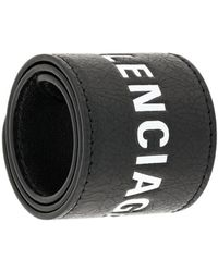 Balenciaga - Cycle Logo Bracelet - Lyst