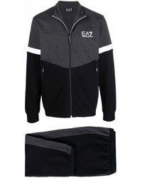 EA7 Sweaters Black