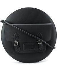 MM6 by Maison Martin Margiela Circular Shoulder Bag - Black