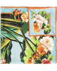 Dolce & Gabbana - Silk Foulard - Lyst