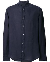 Emporio Armani - Cotton Shirt - Lyst