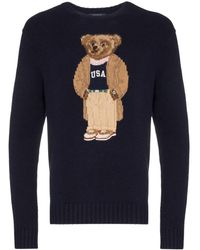 Polo Ralph Lauren Teddy Wool Jumper - Blue