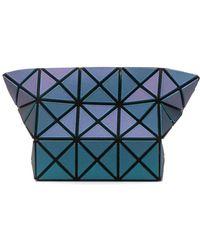 Bao Bao Issey Miyake Geometric Make-up Bag - Blue